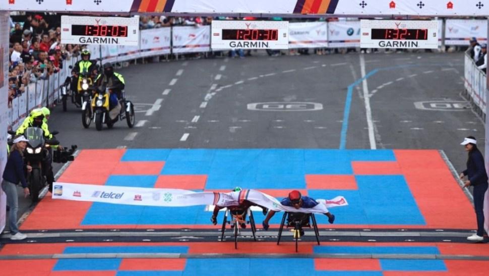 Foto: El ganador en la categoría de silla de ruedas fue Francisco Sanclemente, de Colombia, 25 agosto 2019
