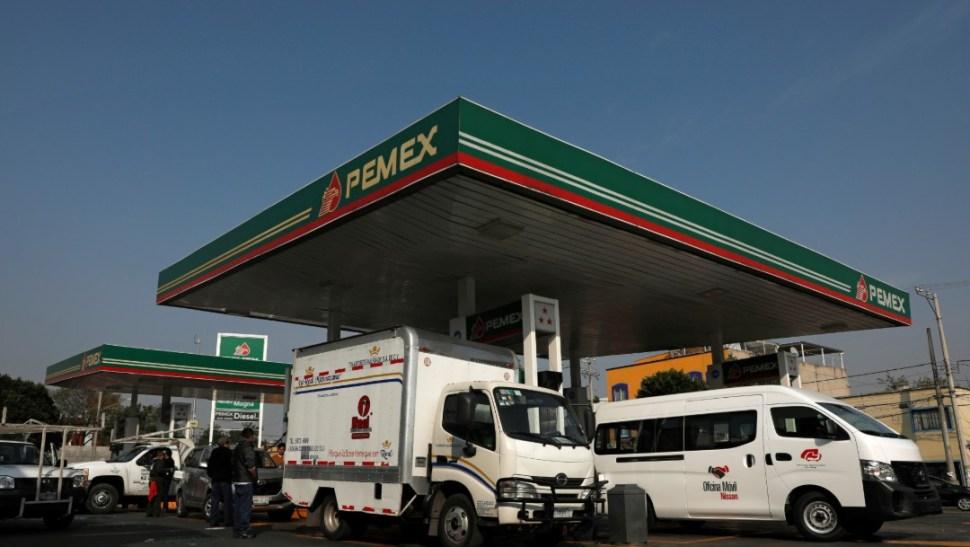 Foto: Gasolinera, 15 de enero de 2019, Ciudad de México