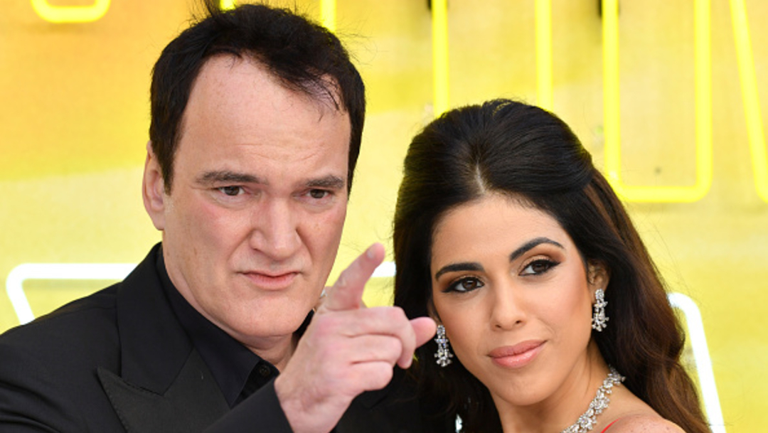 Foto: Tarantino, de 56 años, conoció a Daniella, de 35 en el 2009, 22 de agosto 2019. (Getty Images)