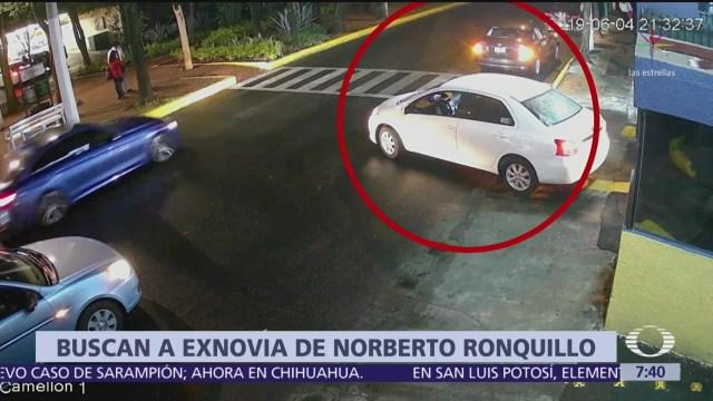 Giran aprehensión a exnovia de Norberto Ronquillo