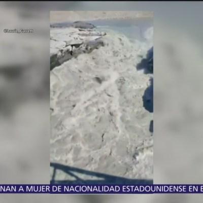 Groenlandia se derrite, pierde toneladas de hielo cada mes