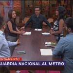 Foto: Guardia Nacional Metro Cdmx 31 Julio 2019