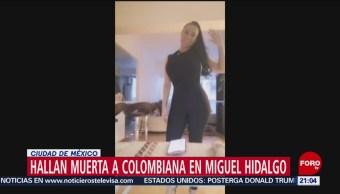 Foto: Escort Colombiana Departamento Cdmx Muerte 20 Agosto 2019