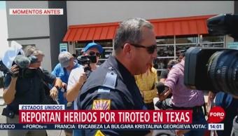 FOTO: Hay varios heridos por tiroteo en tienda de autoservicio en Texas, 3 AGOSTO 2019