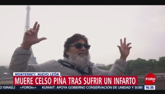 FOTO: Hija Celso Piña despidió de él través Twitter