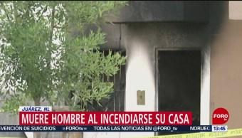 Hombre Muere Durante Incendio Vivienda Nuevo León