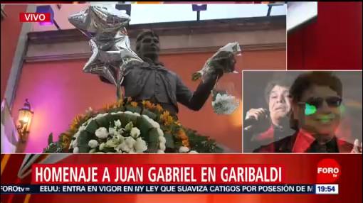 Foto: Homenaje Juan Gabriel Garibaldi 28 Agosto 2019