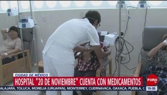 Foto: Hospital '20 Noviembre' Abasto Medicamentos 27 Agosto 2019