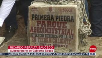 Foto: Inauguran Parque Agroindustrial Michoacán 22 Agosto 2019