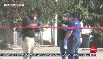 FOTO: Incrementan homicidios dolosos en Chihuahua, 3 AGOSTO 2019