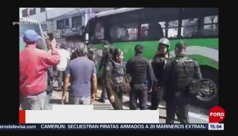 FOTO: Intentan Linchar Chofer Que Atropelló Mujer Iztapalapa, 16 agosto 2019