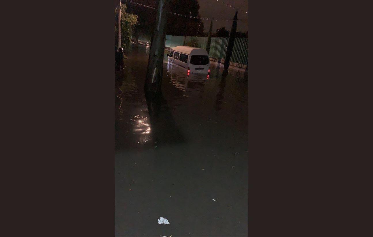 Foto: Fuerte lluvia provoca serias afectaciones en la colonia Santa María Aztahuacan, 8 agosto 2019