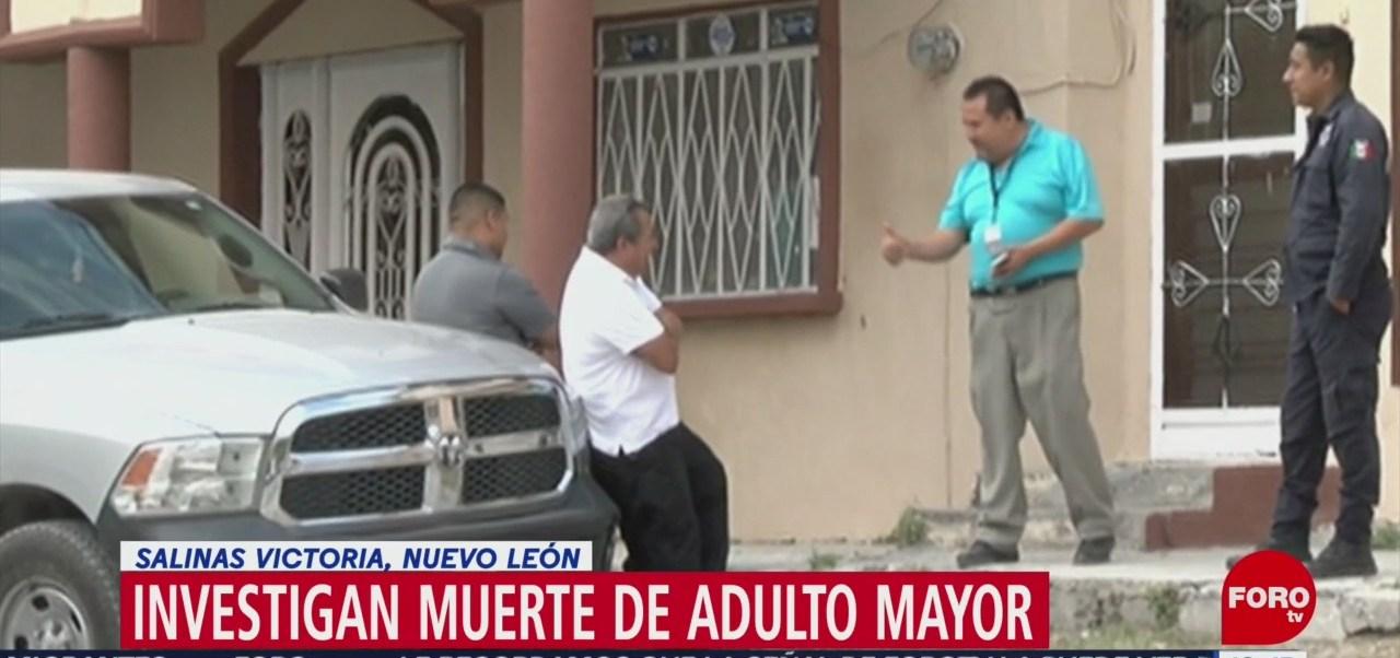 FOTO: Investigan Muerte Adulto Mayor Salinas Victoria