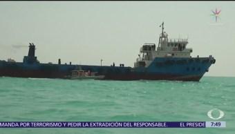 Irán captura un buque cisterna de Irak en el Golfo Pérsico