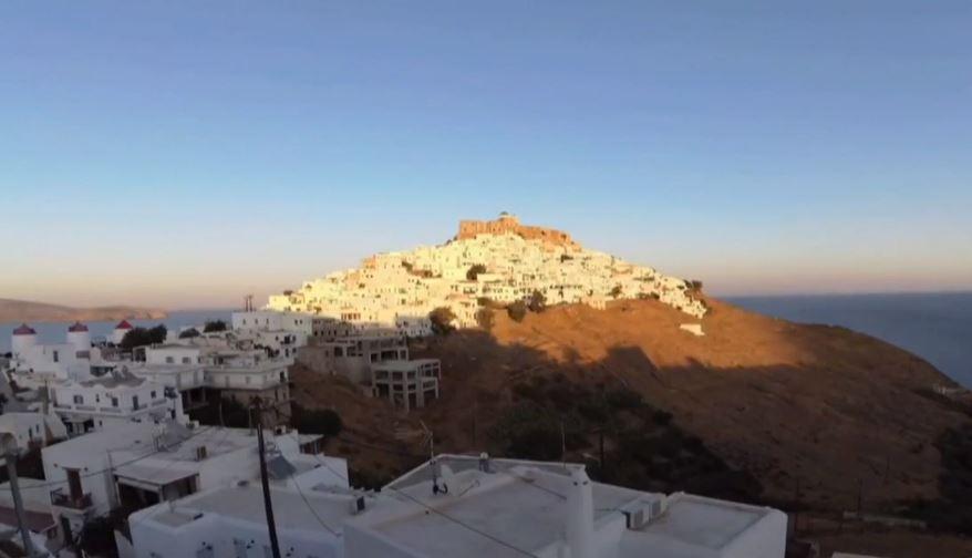 Astypalea, isla griega donde se prohíbe fumar