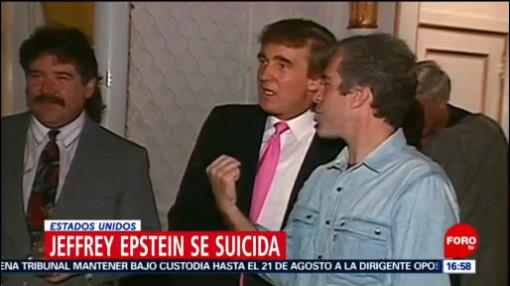 FOTO: Jeffrey Epstein, el millonario neoyorquino que se suicidó en su celda, 11 Agosto 2019