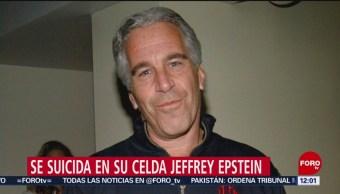 FOTO: Jeffrey Epstein esperaba una pena de hasta 45 años de cárcel, 10 Agosto 2019