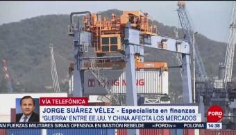 Foto: Jorge Suárez Vélez habla de la guerra comercial entre China y Estados Unidos, 5 de Agosto de 2019