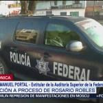 Foto: Juan Manuel Portal asegura que advirtió a Rosario Robles sobre irregularidades