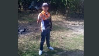 'Juanito Pistolas', de niño sicario a víctima 'sin cabeza' del narco