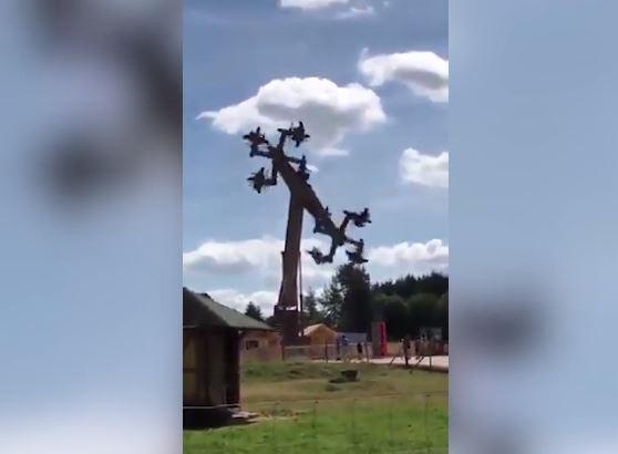 Clausuran atracción en parque de diversiones en Alemania por diseño 'nazi'