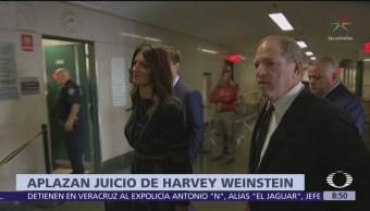 Juicio contra Harvey Weinstein inicia el 6 de enero de 2020