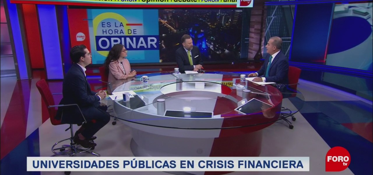 Foto: Crisis Financiera Universidades Públicas Estatales 14 Agosto 2019