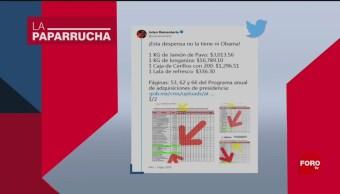 Foto: Despensa Oficina Presidencial Longaniza Noticias Falsas Longaniza Chorizo 6 Agosto 2019