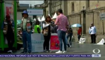 Instalan módulos de ayuda a migrantes en la CDMX