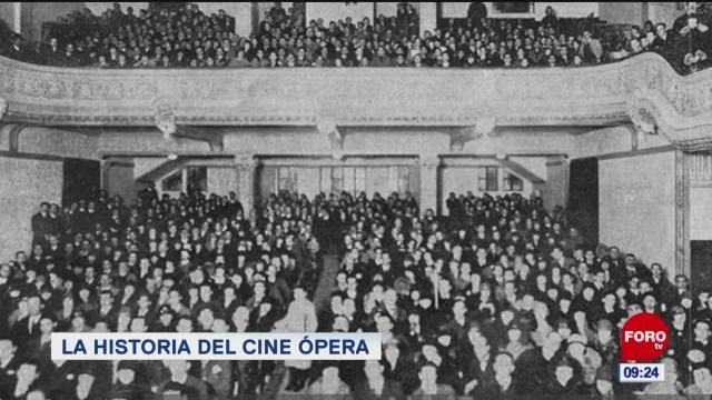 La historia del cine ópera