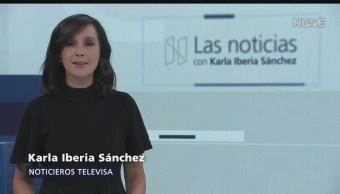 Foto: La Noticias Karla Iberia Noticieros Televisa 22 Agosto 2019