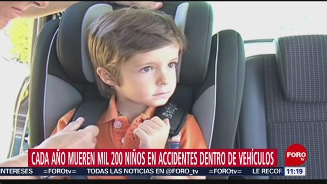 La seguridad del niño pasajero