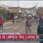 Foto: Labores Limpieza Lluvias Nicolás Romero 7 Agosto 2019
