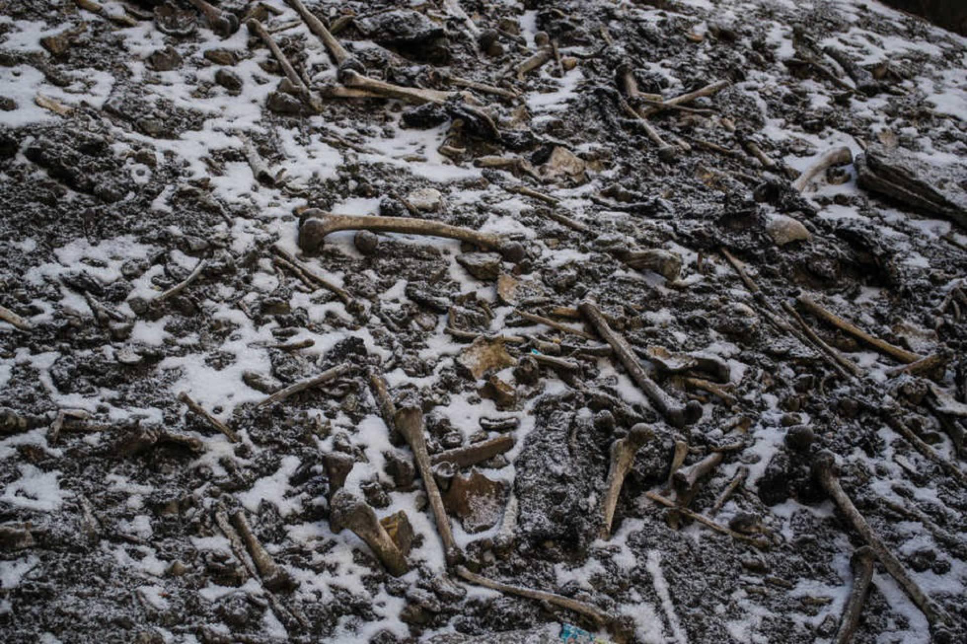 lago Roopkund esqueletos