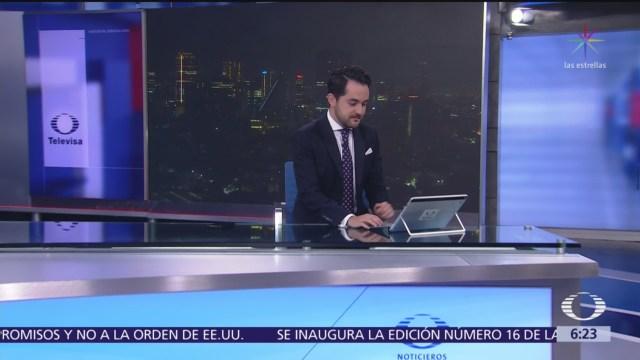 Las noticias, con Danielle Dithurbide: Programa completo del 1 de agosto del 2019