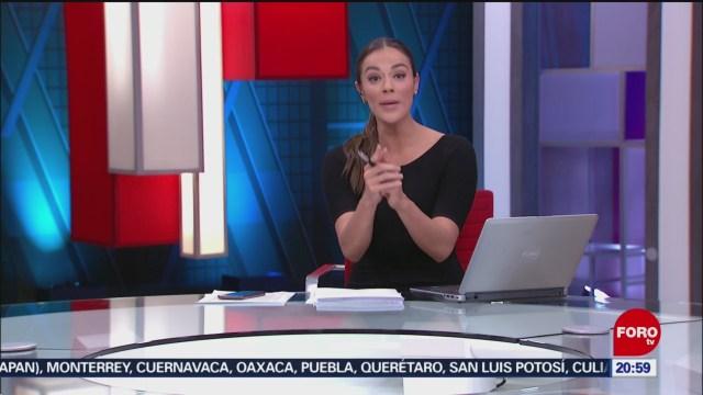 Foto: Las Noticias Danielle Dithurbide Forotv 30 Agosto 2019