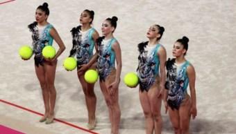 Oro en gimnasia rítmica hace historia para delegación mexicana