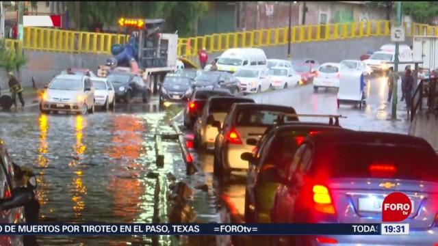Foto: Lluvia Provoca Inundación Tláhuac Cdmx 5 Agosto 2019