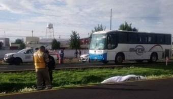 Manifestante atropellado en autopista México-Pachuca