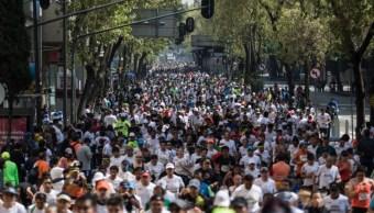 Imagen: La instalación de estos módulos es con el propósito de atender incidentes que se registren en la edición XXXVII del Maratón Ciudad de México 2019, el 24 de agosto de 2019 (Misael Valtierra/Cuartoscuro.com)