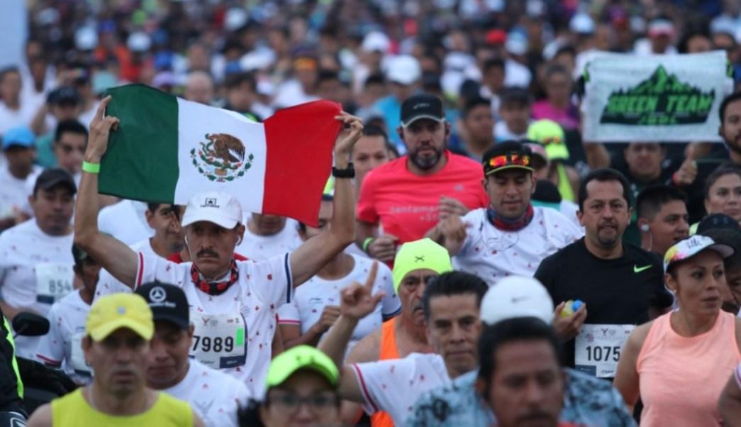 Foto: Se estima que en esta edición, participaron alrededor de 25 mil corredores en el Maratón de la Ciudad de México, el 25 de agosto de 2019 (Galo Cañas/Cuartoscuro.com)