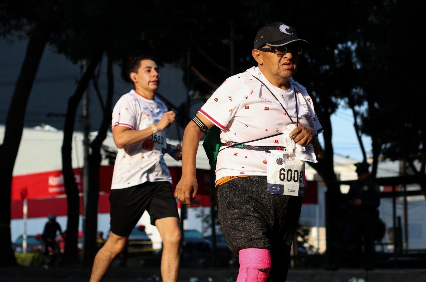 Foto: Maratón de la Ciudad de México este domingo 25 de agosto de 2019 (Cuartoscuro)