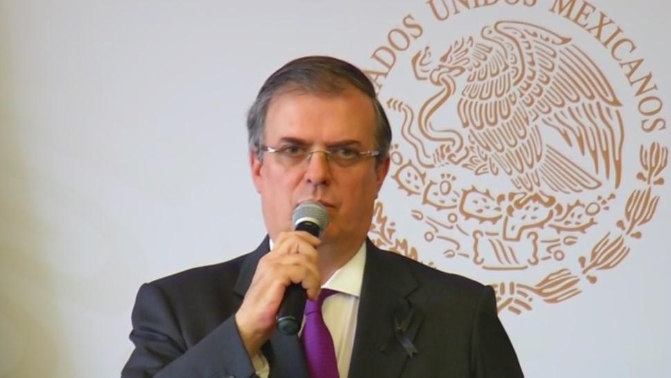Foto: Marcelo Ebrard dio a conocer las acciones que tomará México tras tiroteo en El Paso, Texas, 4 de agosto, 2019 (Noticieros Televisa)