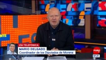 Mario Delgado: Se impulsará reforma para reducir el presupuesto a partidos políticos