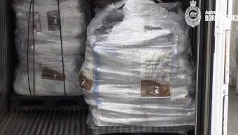 Australia incauta el mayor contrabando de metanfetamina procedente de México con un valor de 381 mdd