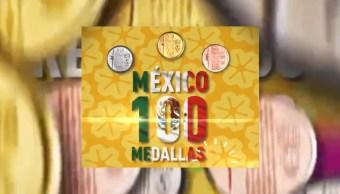 México rompe récord, suma 100 medallas en Juegos Panamericanos Lima 2019 (Conade)