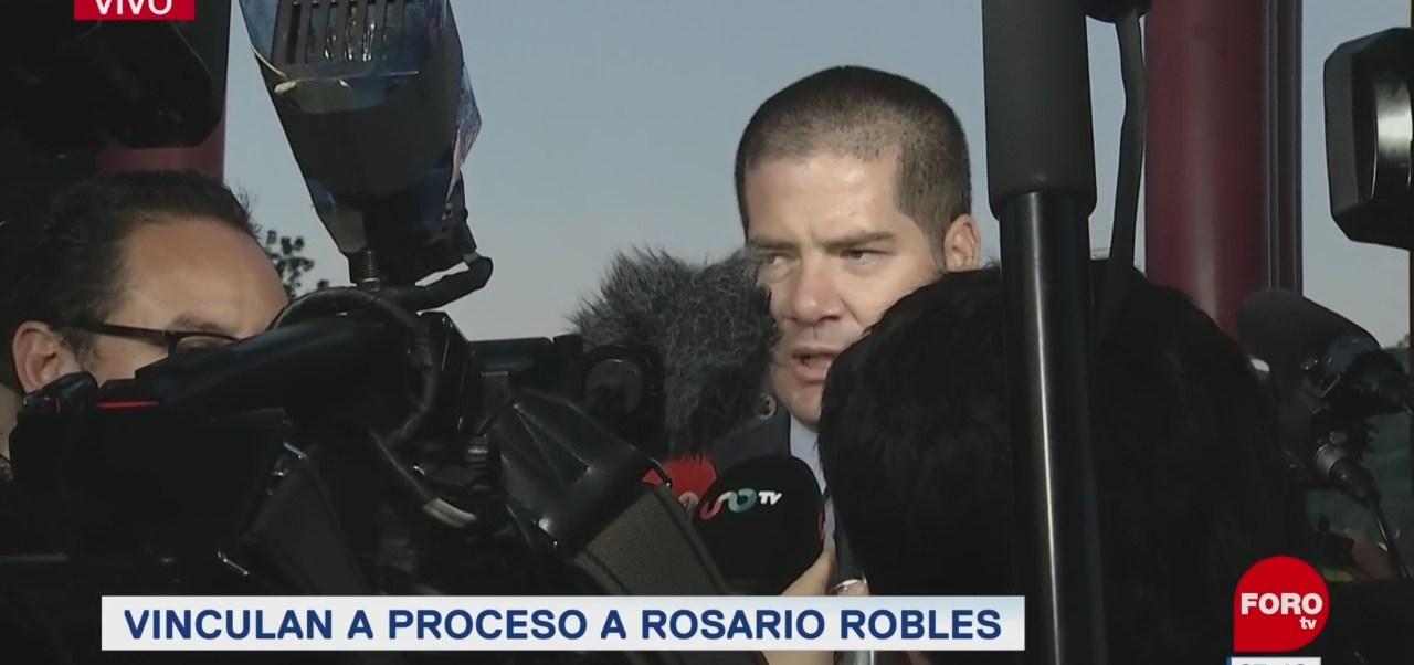 'Mi clienta tiene los recursos para ser defendida', dice abogado de Rosario Robles