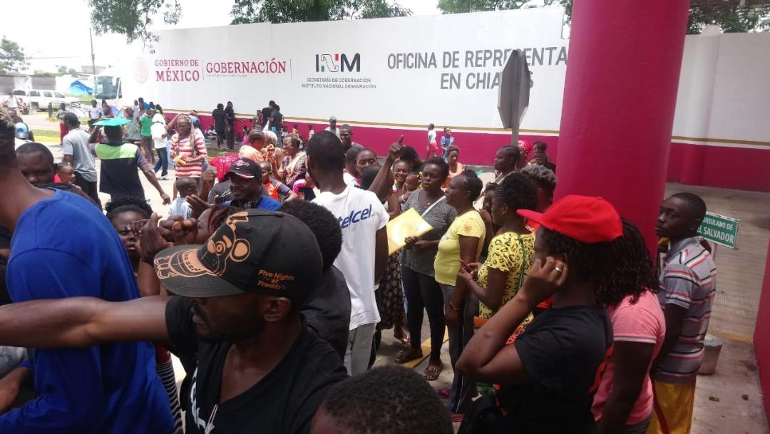 Foto: Hasta el momento, el Instituto Nacional de Migración no se ha manifestado al respecto, 19 de agosto de 2019 (Twitter @CuartoPoderMX)