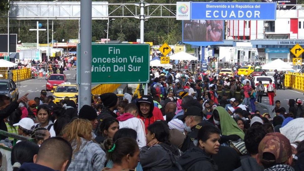 Foto: El Gobierno ecuatoriano comenzará en octubre un proceso de regularización para los venezolanos que hayan ingresado a su territorio hasta el 26 de julio, para extender beneficios sociales y laborales, 26 de agosto de 2019 (EFE)