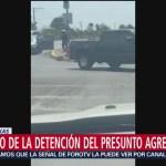 FOTO: Momento de la detención del presunto agresor del tiroteo en El Paso, Texas, 3 AGOSTO 2019